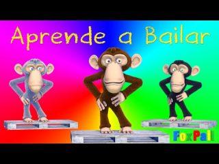 Aprender a Bailar. Canción para niños. Didáctico educativo infantil