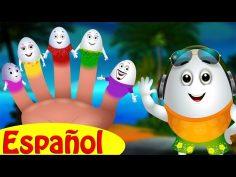 Canción de la Familia de Dedos Huevo | Huevos Sorpresas Canciones Infantiles | ChuChu TV