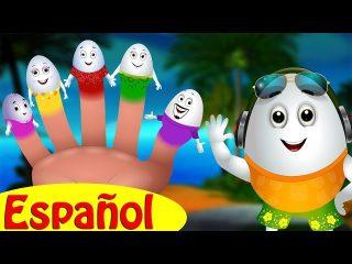 Canción de la Familia de Dedos Huevo   Huevos Sorpresas Canciones Infantiles   ChuChu TV