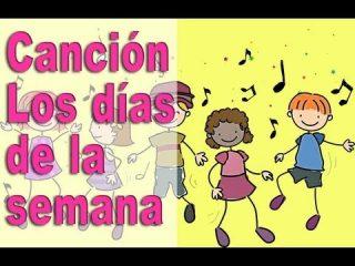 Canciones Infantiles. Aprende los días de la semana con una canción.