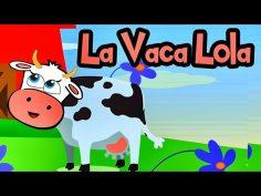 LA VACA LOLA Canciones Infantiles Barney el camión