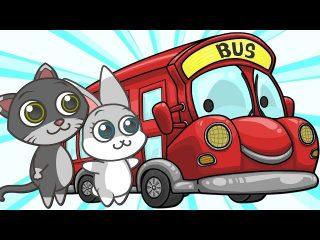 ? LAS RUEDAS DEL AUTOBÚS ? PARTE 2 | Canciones Infantiles | Dibujos Animados para Niños