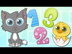 ? LOS NÚMEROS Y ANIMALES ? Canciones Infantiles | Dibujos Animados