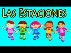 Las Estaciones. Canción Infantil educativa y divertida