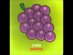 Las frutas – Canciones infantiles aprendiendo las frutas música para bebes – Ingles