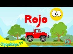 Los Colores – Canción Infantil – Aprende los colores con camiones – en español