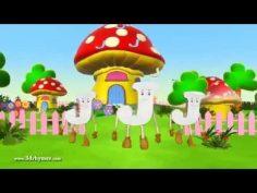 Canción infantil en inglés del abc. Canción para aprender inglés.