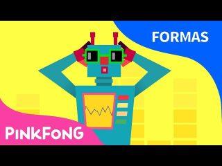 La canción del robot cuadrado para distinguir las formas.