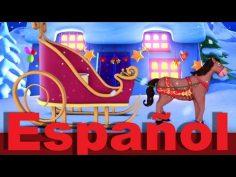 Dulce navidad en español. Canción infantil con vídeo navideño.