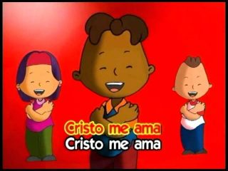 Cristo ama a los niños, karaoke infantil.
