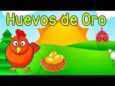 Canciones infantiles. La gallinita de los huevos de oro.