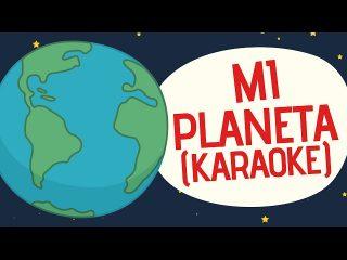 Canciones para niños en karaoke sobre el planeta tierra.