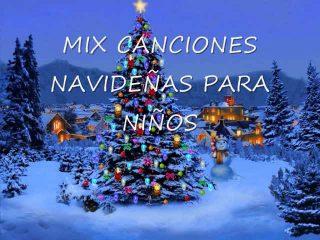 Mix de canciones navideñas para niños.