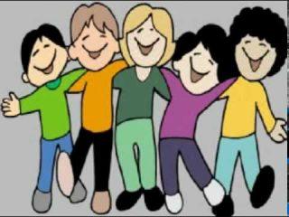 Música cristiana en karaoke para niños. Cantemos todos juntos.