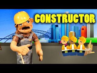 Quiero ser constructor, canción infantil de oficios.