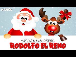 Rodolfo el reno con letra, canciones de navidad para bailar.