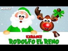 Rodolfo el reno, villancico de navidad infantil en karaoke.