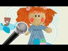 Tengo una muñeca vestida de azul. Karaoke para niños.