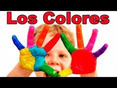 Los colores en español. Videos educativos para niños.